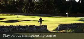 Play on our championship course