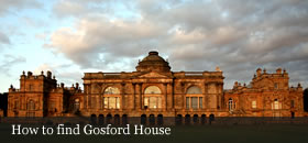 How to find Gosford House